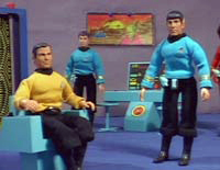 Star Trek dolls
